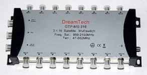 Мультисвич Dream Tech ms-316 3x16
